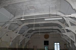 Current interior of Sidmouth Drill Hall