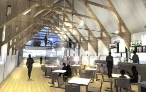 Architect's vision phase 2 Drill Hall Interior (c) Alex Vick